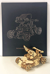 「RoboMaster S1」クラフトパズル(提供:DJI JAPAN株式会社)
